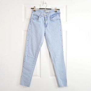 Levi's 721 High Rise Skinny Sz 27 Light Wash